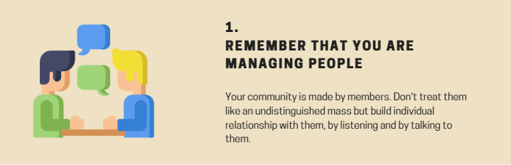 rule 1 community management